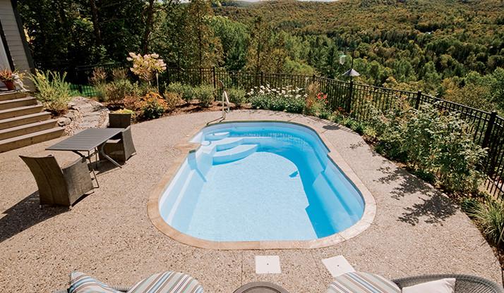 Pool model F-11 by Pool Fibro - 1