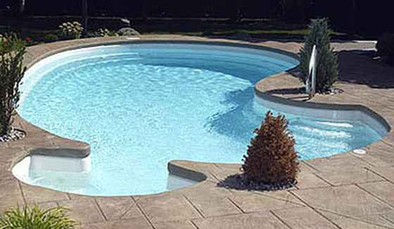 Pool model F-15 by Pool Fibro - 3